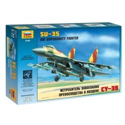 Истребитель завоевания превосходства в воздухе Су-35(7240)