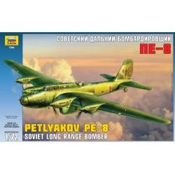 Советский дальний бомбардировщик ПЕ-8 (7240)