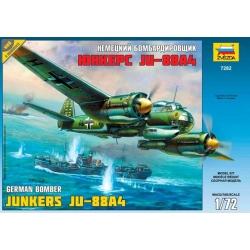 Немецкий бомбардировщик Юнкерс JU-88A4 (7282)