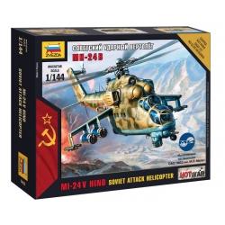 Soviet attack Helicopter Mi-24 (7403)