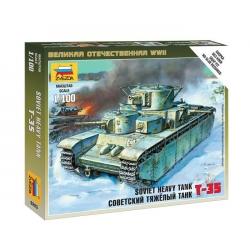 WWII Советский тяжелый танк Т-35 (6203)