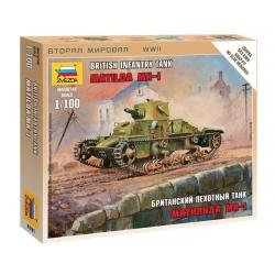 WWII Британский пехотный танк Матильда МК-I (6191)