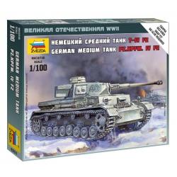 WW II Немецкий танк T-4 F2 (6251)