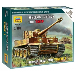 "WW II Немецкий тяжёлый танк ""Тигр"" (6256)"