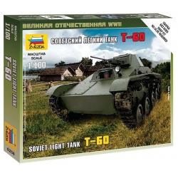 WW II Советский легкий танк Т-60 (6258)