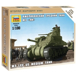 WW II Американский танк M3 Lee (6264)