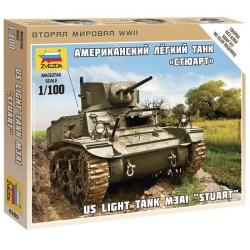 "WW II Американский танк ""Стюарт"" (6265)"