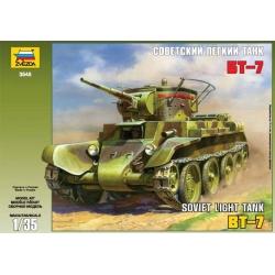 WW II Советский лёгкий танк БТ-7 (3545)