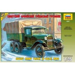 WW II Советский армейский трехосный грузовик (ГАЗ-ААА) (3547)