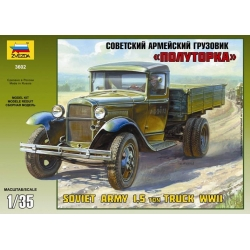 WW2 GAZ-AA Soviet Light Truck (3602)