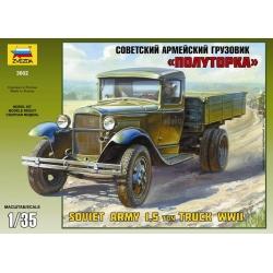 "WW2 Советский армейский грузовик ""Полуторка"" (ГАЗ-АА) (3602)"