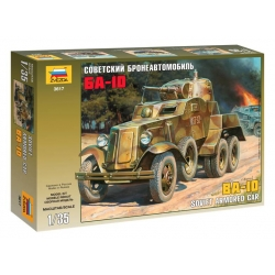 WW2 BA-10 SOVIET ARMORED CAR (3617)
