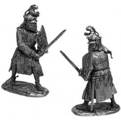 Jacques Louchard - французский рыцарь, 1350 г.