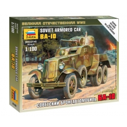 WW2 Soviet armored car BA-10 (6149)