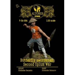 Butterfly swordman, Second Opium War (F-54-004 metal kit)