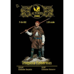 Iroquois fisherman (F-54-002m kit)