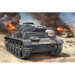 WWII Танк PzKpfw II Ausf. F (03229)