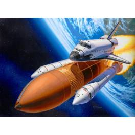 Space Shuttle Discovery + Booster Rockets (04736)