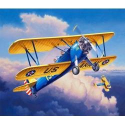 Биплан Stearman P-17 Kaydet (03957)