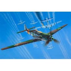 Сборная модель немецкого самолета Focke Wulf Ta 152 H (03981)
