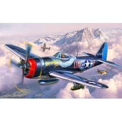 Самолет Истребитель-бомбардировщик Рипаблик P-47 «Тандерболт», ВВС США. WWII (03984)