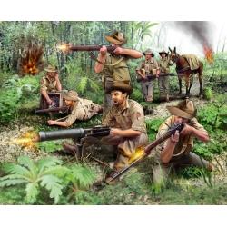 ANZAC infantry. WWII, 1:76 (02529)