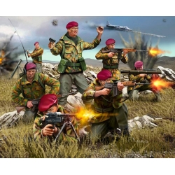 British paratroopers. Falkland War, 1:76 (02596)