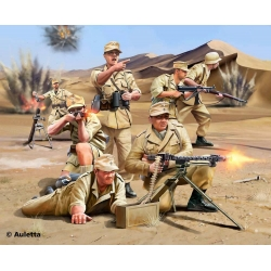 German Africa corps. WWII, 1:76 (02616)