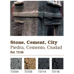 Pigments. Stone and cement, city (73198)