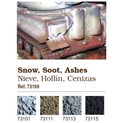 Pigments. Snow, Soot, Ashes, Industrial Grime (73199)