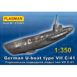 German U-boat type VII C/41 (235003)