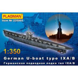 German U-boat type VII IX A/B (235005)