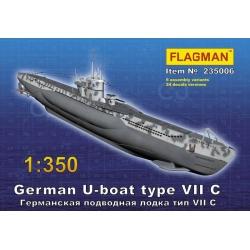 Германская подводная лодка типа VII C (235006)