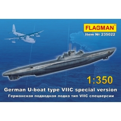 The German submarine type VIIC (special version) 235022