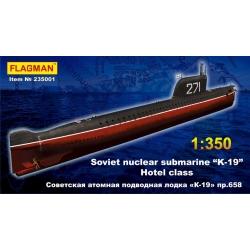 "The soviet nuclear submarine ""K-19"" (NATO code - Hotel class) 235001"
