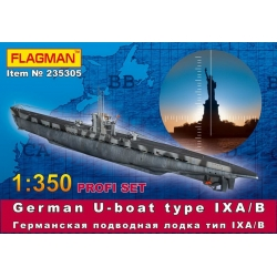 German U-boat type VII IX A/B (235305)
