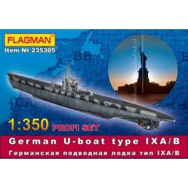 German U-boat type VII IX A/B (235305)