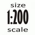 Масштаб 1:200