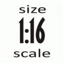 Масштаб 1:16 (110 мм)