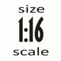 Scale 1:16 (110 mm)