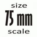 75 mm (1:24)