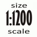 Масштаб 1:1200