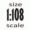 Масштаб 1:108