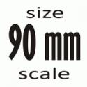 90 mm