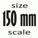 Масштаб 1:12 (150 мм)