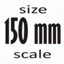 Scale 1/12 (150 mm)